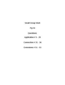 6th Grade CMP3 Lesson Plan - Prime Time 3.2 - Workshop Model