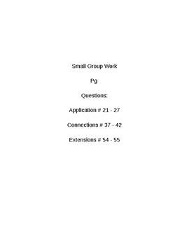 6th Grade CMP3 Lesson Plan - Prime Time 3.3 - Workshop Model
