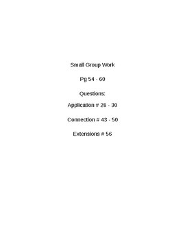 6th Grade CMP3 Lesson Plan - Prime Time 3.4 - Workshop Model