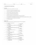 6th Grade Classification Unit Test