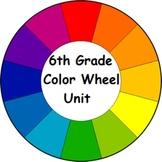 6th Grade Color Wheel Unit