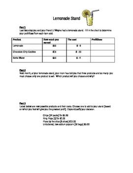 6th Grade Common Core DOK 3 Questions