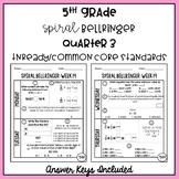 5th Grade TNReady/CCS Daily Spiral Bellringer Review Quarter 3