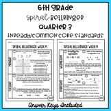 6th Grade TNReady/CCS Daily Spiral Bellringer Review Quarter 3