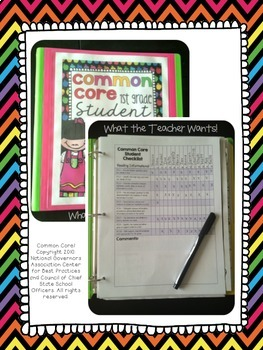 {6th Grade} Common Core Data Checklists - ELA and Math