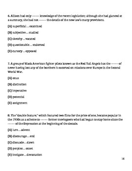 Common core worksheets grade 6 language arts