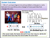 6th Grade Common Core Eureka (formerly Engage NY) Module 1 Ratios Lessons 1-10