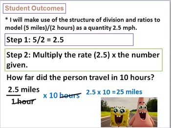 6th Grade Common Core Eureka (formerly Engage NY) Module 1 Ratios Lessons 1-5