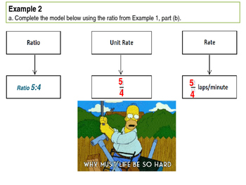 6th Grade Common Core Eureka (formerly Engage NY) Module 1 Ratios Lessons 16-20