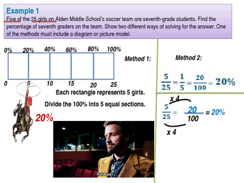 6th Grade Common Core Eureka (formerly Engage NY) Module 1 Ratios Lessons 26-29
