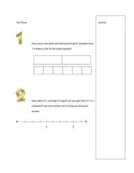 6th Grade Common Core Full Math Notebook Inserts