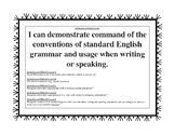 6th Grade Common Core Language Arts Standards CCSS
