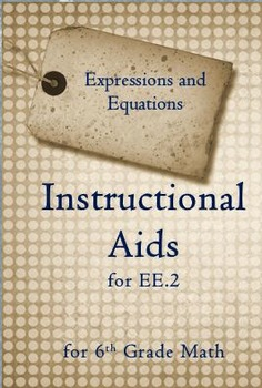 6th Grade Math: Instructional Aids for 6.EE.2