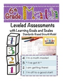 6th Grade Math Assessment with Learning Goals and Scales -