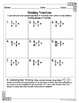 Sixth Grade Math Homework Sheets- The Number System