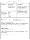 6th Grade Common Core Math Lesson Plans 6G.2