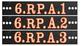 6th Grade Common Core Math/Reading Chalkboard Labels (Ster