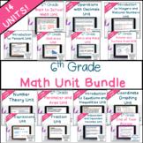 6th Grade Common Core Math Unit Bundle