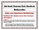 6th Grade Common Core Mathematics Standards