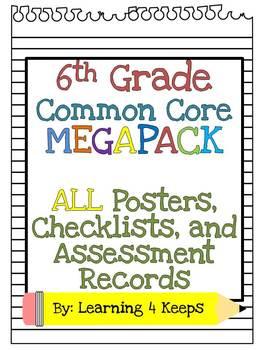 6th Grade Common Core Megabundle