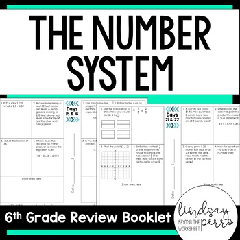 The Number System Review Booklet