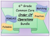 6th Grade Common Core Order of Operations Bundle