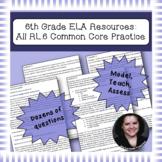 6th Grade Common Core Practice ALL RL Standards