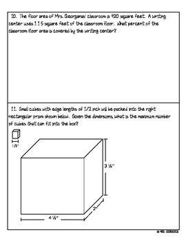 {6th Grade} Common Core Practice Questions