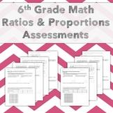 6th Grade Common Core Pre- & Post-Assessment: Ratios & Pro