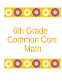 6th Grade Common Core Rational Numbers and Integers Bundle