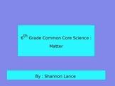 6th Grade Common Core Science : Minerals Task Cards
