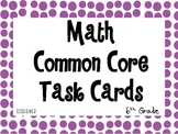 6th Grade Common Core Task Cards 6.NS.2
