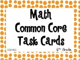 6th Grade Common Core Task Cards 6.NS.3