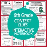 Context Clues Worksheets & Activities + 6th Grade Language Interactive Lesson