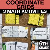 6th Grade Coordinate Plane Activities | 6th Grade Google F