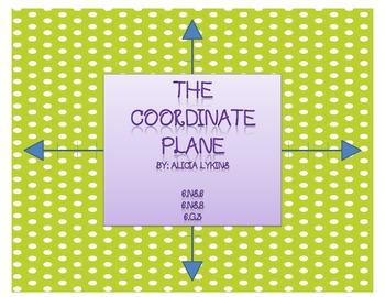 6th Grade Coordinate Plane Task Cards