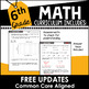 6th Grade Math Curriculum Growing Bundle Common Core Aligned