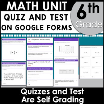 6th Grade Math Curriculum Growing Bundle Common Core Aligned Using Google