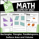 6th Grade Math Geometry Curriculum Unit Four