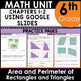 6th Grade Curriculum Unit Four Geometry using Google