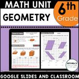 6th Grade Math Geometry Curriculum Unit Four using Google