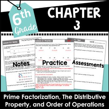 6th Grade Curriculum Unit One