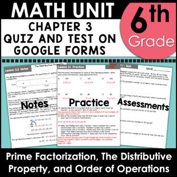 6th Grade Curriculum Unit One using Google