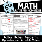 6th Grade Math Ratios, Rates, Unit Rates, and More Curriculum Unit Two