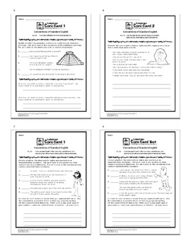 "6th Grade LANGUAGE Daily Practice (""I Can"" ELA Posters + 6th Grade Morning Work)"
