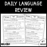 6th Grade | Daily Language Review | Grammar | Do Now and Morning Work