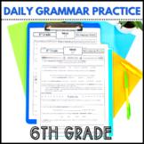 Daily Language Review Google Classroom | 6th Grade