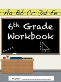 6th Grade Daily Workbook- 180 Days of Common Core Aligned Material