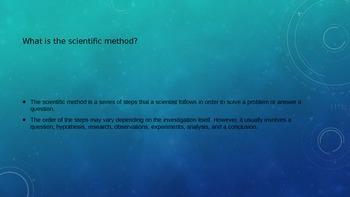 6th Grade Designing Experiments- Scientific Method TCAP Practice