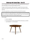 6th Grade: Determine the Central Idea - Part II